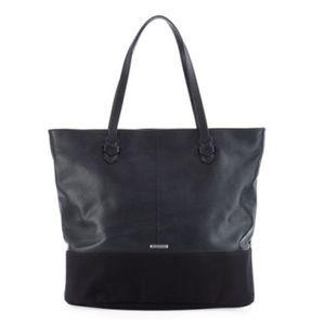 Rebecca Minkoff Mansfield Tote Bag Black Leather